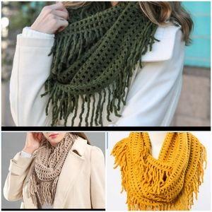 🎁 3 pack infinity scarf bundle